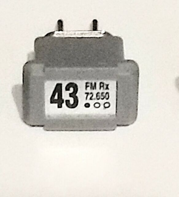 JR Single Conversion 72Mhz FM Transmitter//Receiver Crystal Set Channel 26 72.310