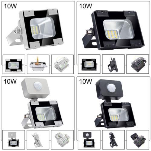 LED Floodlight 20//30//50//100W PIR Sensor Outdoor Wall Fixtures Lights Cool Warm