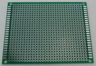 1//2 pcs Single Sided Universal PCB Proto Prototype Perf Board 5*10 5x10 cm