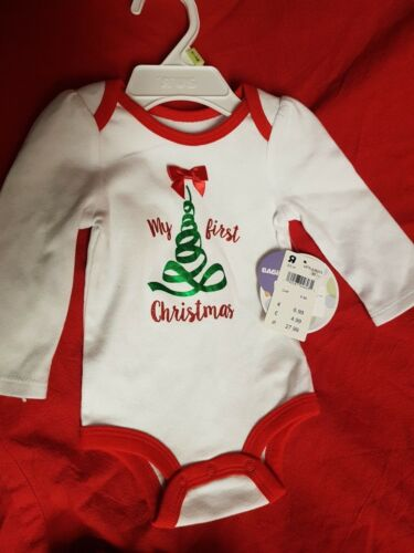 Unisex My First Christmas Bodysuit