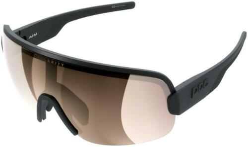 Uranium Black Brown//Silver-Mirror Lens POC AIM Sunglasses