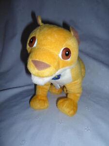 2006-Go-Diego-Talking-Animal-Rescue-Lion-Cub-12-034-Plush-Soft-Toy-Stuffed-Animal
