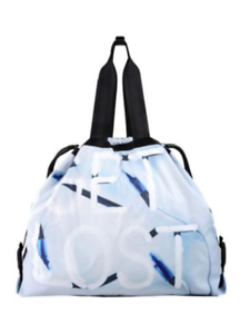 5048fd29faae adidas Y-3 Yohji Yamamoto Lightweight Backpack Sport Bag Blue Black ...
