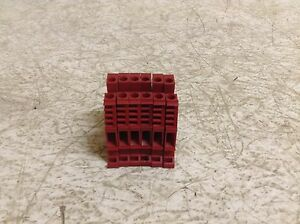Allen Bradley 1492-W4 Red Wire Terminal 1492W4 Lot of 6