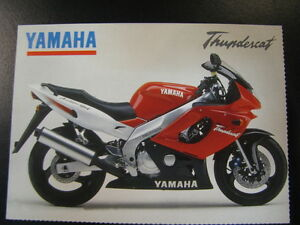 ansichtkaart-Yamaha-YZF600R-Thundercat