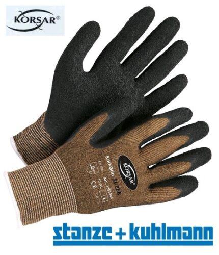 """alternativ zu and 12 Paar Montagehandschuhe Korsar /""""Super Grip/"""" Gr.9 Marken"""