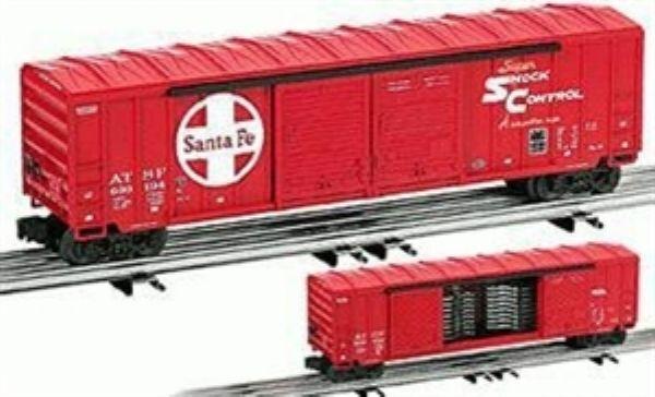 Lionel 17280 SF AAR Standard DD Boxcar AutoFrame load