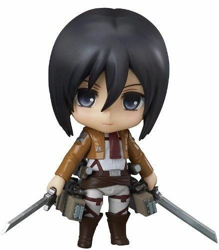 Nendoroid 365 Attack On Titan Mikasa Ackerman Figura Good Smile Company Nuevo