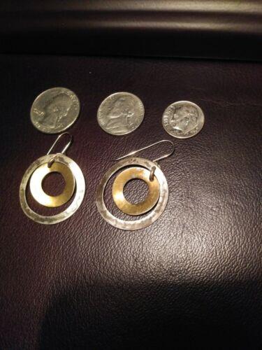 Marjorie Baer Two Tone Earrings