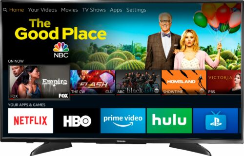 4K UHD TV with HDR Fire TV Edition Toshiba 43Class LED 2160p Smart