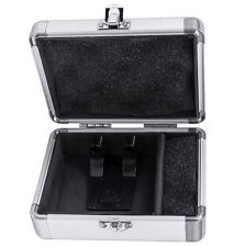 Odyssey KCC2PR2SL KROM PRO2 2x Turntable Needle Cartridge Travel Case SIlver