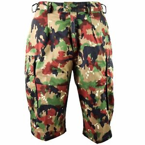Original Details Cargo Camo Combat M83 About Shorts Swiss Field Alpenflage Army Yfgb7yv6