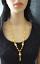 Kugel Perlen Gold Kette 22 Ayar Altin Kaplama Zincir Kolye Halskette Indisch