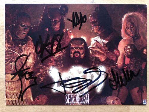 Lordi AK internationale Musiker Autogrammkarte original handsigniert