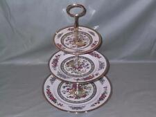 Paragon Tree of Kashmir Bone China 3-Tier Hostess Cake Plate Stand (V1)