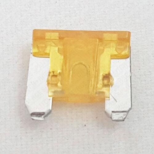 5 x 5 Amp Orange Micro Blade Fuse 5A Amps A Car Fuses Mini Low Profile Car Auto