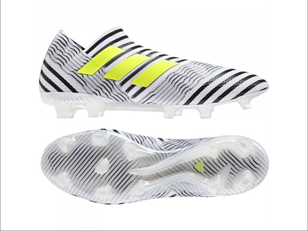 NibAdidas NEMEZIZ 17+ 360 AGILITY FG Soccer Football Boot Cleat shoesMens sz 10