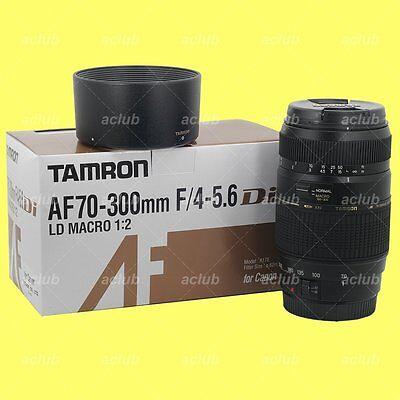 Tamron AF 70-300mm F/4-5.6 Di LD Macro 1:2 Lens A17E for Canon EOS EF