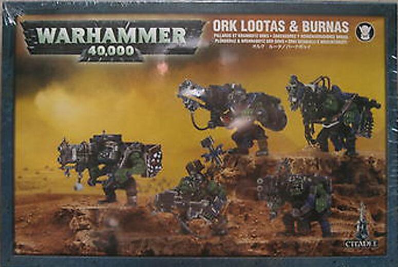 Warhammer 40k Ork Lootas /& Burnas NIB
