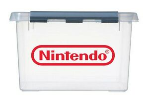 4x-sml-NINTENDO-Logo-Vinyl-Stickers-Decals-for-NES-games-storage-box-amp-container