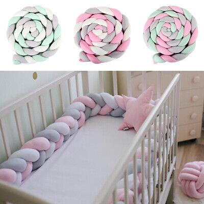 3-4M Nestchen Kopfschutz Knotenkissen Bettschlange Baby Farbe Babynestchen...