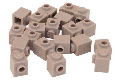 4x Lego Brick Modified 1x1 Stud 1 Side Rot//Rot 87087 Neu Lego