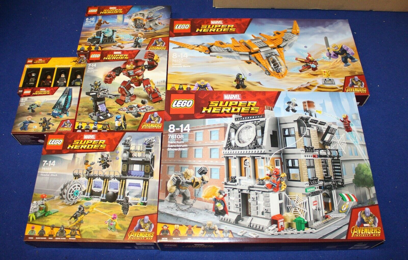 LEGO Marvel Super Heroes Avengers Infinity War  NEU  designer en ligne
