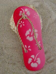 Kühlschrank Magnet Sandale  Hawaii Flower  verschiedene Farben