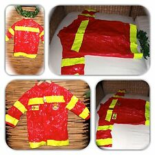 DAZZLING FIREFIGHTER KIDS COSTUME! (ONE SIZE)