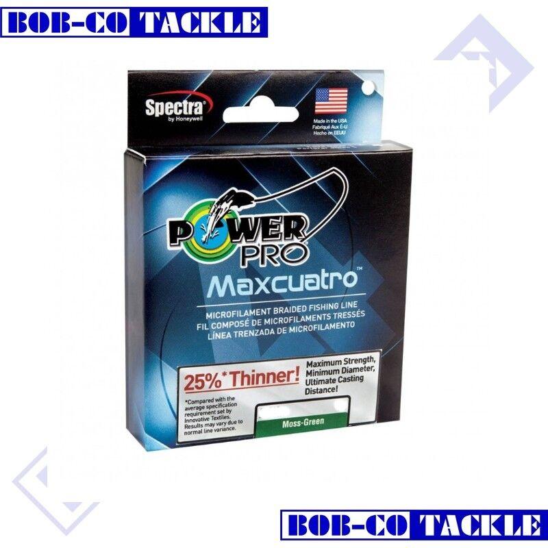 PowerPro Maxuatro 455m Moss Green Braid 0.32mm - 30kg