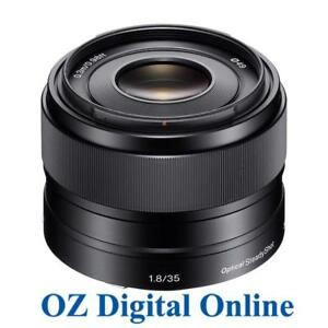 New-Sony-E-35mm-F1-8-OSS-SEL35F18-Lens-F-1-8-E-Mount-APS-C-Format-1-Year-Au-Wty