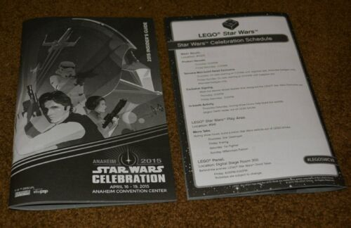 2015 Star Wars Celebration Anaheim Exclusive Official Insider's Guide Program