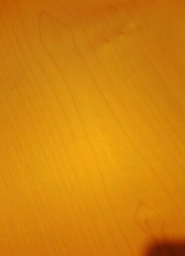 Ahorn One piece maple Korpus Nr 17 Bergahorn Tonholz tonewood  500//360 //45 mm