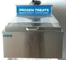 Silver King Skctm Frozen Treats Ice Cream Counter Top Freezer Showcase