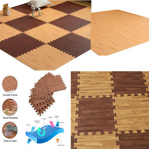 Play Mat Soft Non Toxic Extra Thick Foam Interlocking Floor Tiles For Playroom Baby