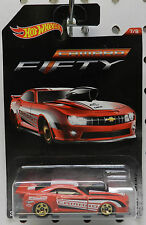 DRAG RACE PRO STOCK RED 10 2010 RED FIFTY 50 CHEVY CAMARO 2017 HW HOT WHEELS