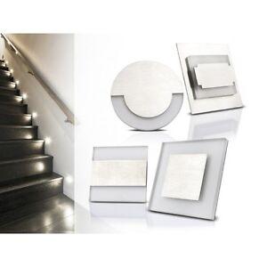 LED-Wandleuchte-Einbauleuchte-Treppenbeleuchtung-Decoleuchte-12V-SMD-Stufen-0-8W