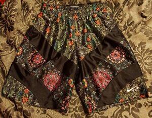 120 Nwt Floral Shorts Nike 827071 010 Tisci para X X mujer Nikelab Riccardo talla 6ddwqr