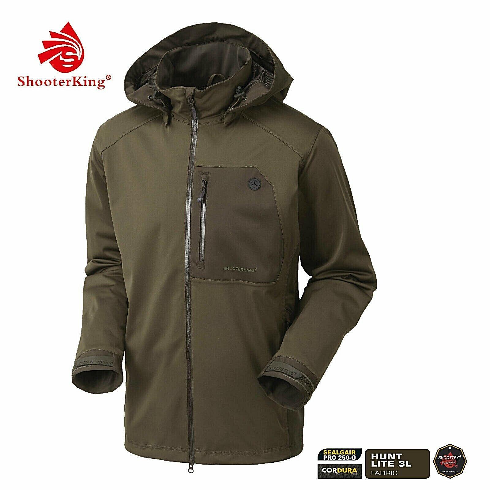 ¡¡¡¡Nuevo      - ShooterKING chaqueta de caza HUNTFLEX - marrón - con membrana  autentico en linea