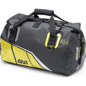 Givi Easy-T Range Waterproof Cylinder Seat Bag 40L Black Yellow WP ... 88c83b9d56740