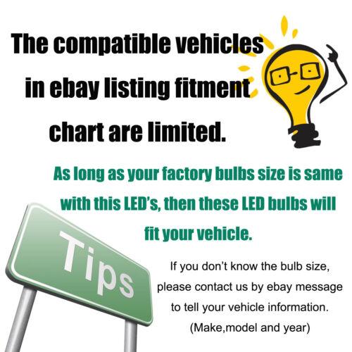 300W H4 H7 H11 9005 9006 Car CREE LED Conversion Headlight Bulb KIT Canbus 6000K