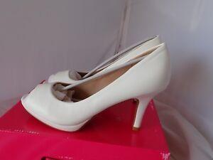 bb145ade9 Details about DREAM PAIRS Women's City OT White PU Fashion Stilettos Peep  Toe Pumps Heels 8.5M