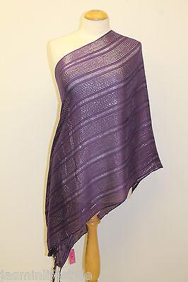 Ladies Paisley Pattern Pashmina Striped USA Designs Scarf Hijab Shawl Wrap Gift