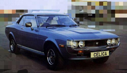Toyota Celica TA23 RA23 RA28 1976-1977 Aluminium Radiator 56mm 3 core