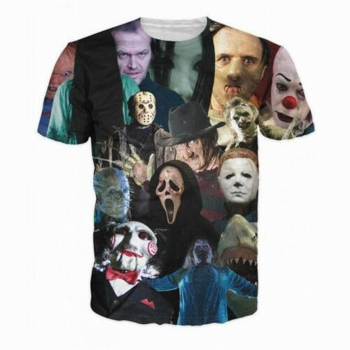 2018 Cool Men/'s Print Short Sleeve Cotton Tops Casual T-Shirt Graphic Tee Shirts