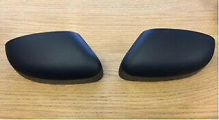FORD FOCUS RS MK2 FOCUS ST FACELIFT MATT BLACK WING MIRROR COVER SET 08-11