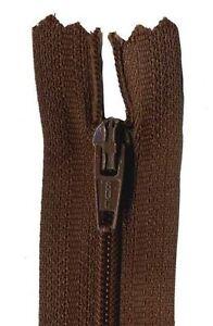 20cm Brown Dress Zip