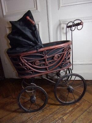 Jolie poussette ancienne, années 40/50 | eBay