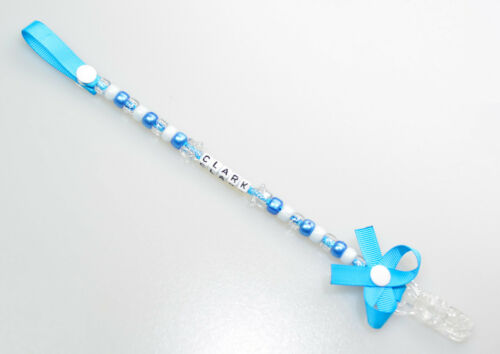 Personalised Dummy ❤Clip❤Chain❤Strap ❤Baby Girl❤Baby Boy❤ ❤Wide Range Of Choice❤