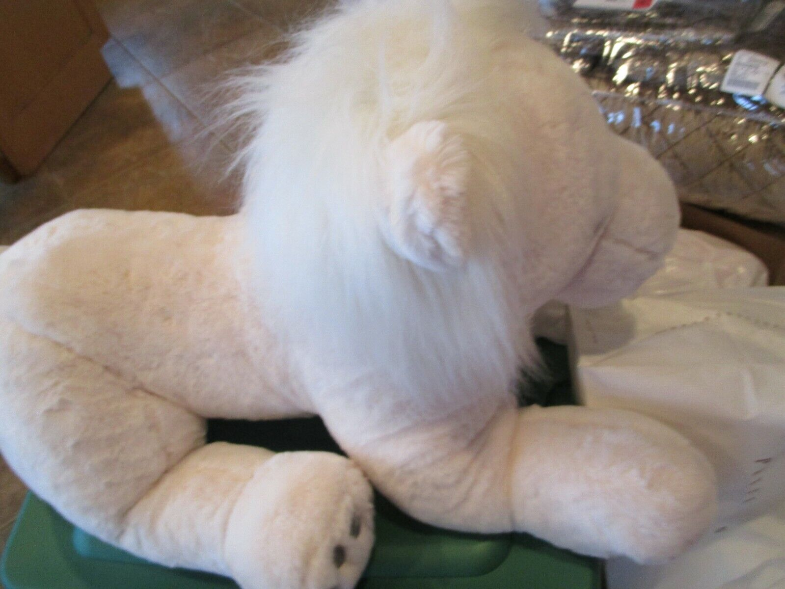 Pottery Barn Kids Jumbo Lion Plush stuffed animal New